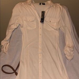 Ultra Flirt Dresses - Ultra Flirt Button Dress